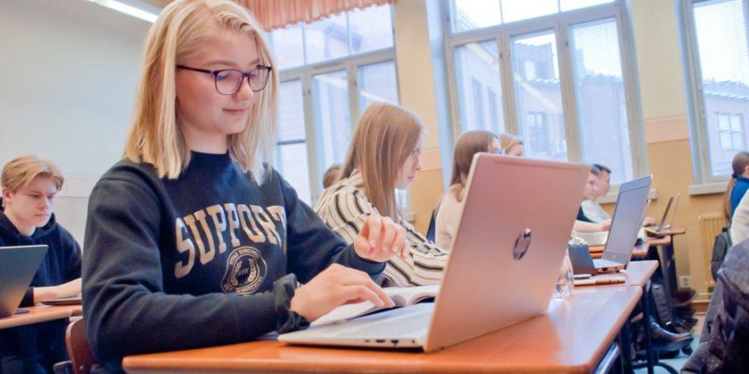 Haku Lahden yhteiskoulun lukioon 2021