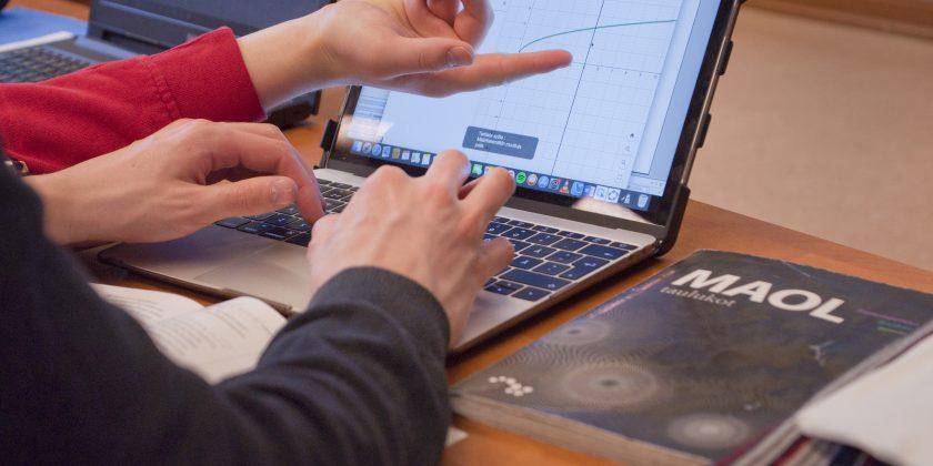 Lukiossa tarvitset henkilökohtaisen tietokoneen