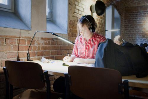 Manalan opiskelutiloja voi hyödyntää itsenäiseen opiskeluun esimerkiksi hyppytunnilla.