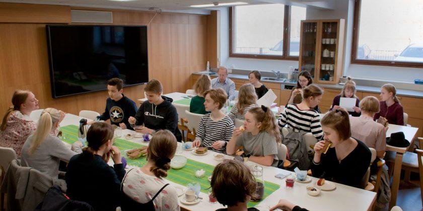 Oppilaskuntatoiminta lisää osallisuutta.