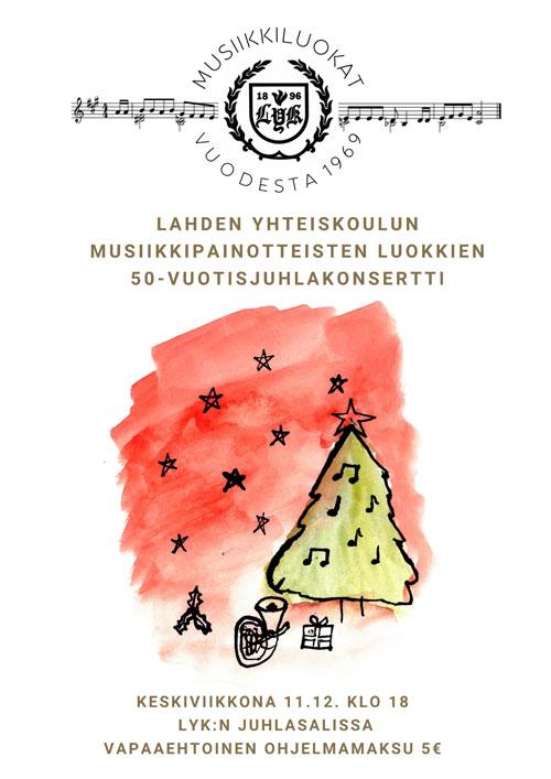 LYK-musaluokat-50-vuotta-konsertin-mainos